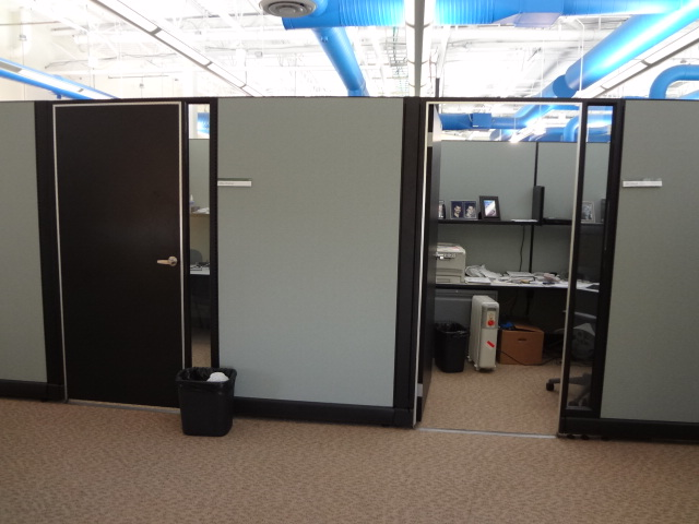 Office cubicle door Sliding Furniturefinders At Furniturefinders Used Office Cubicles Herman Miller Ao2 Cubicles 85