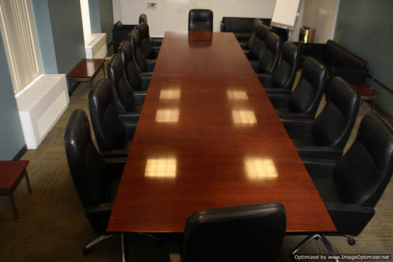 Used Office Conference Tables Foot Cherry Rectangular - 20 foot conference table