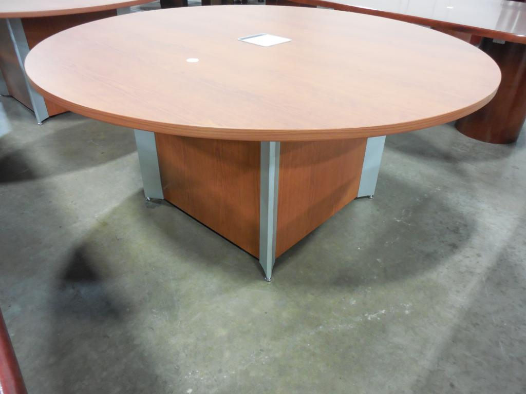 New Office Conference Tables Teknion Round Conference Table At - Half circle conference table