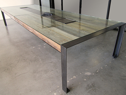 New Office Conference Tables Modern Conference Table N Reclaimed - Gray conference table