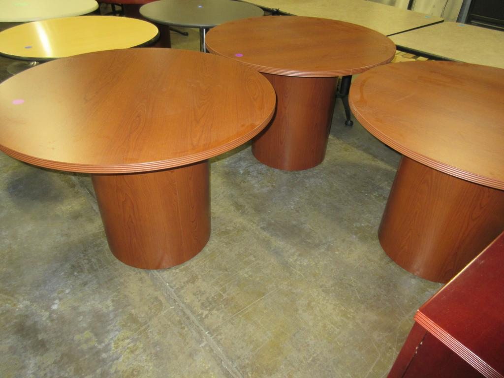 Used Office Conference Tables Inch Round Conference At - 42 inch round office table