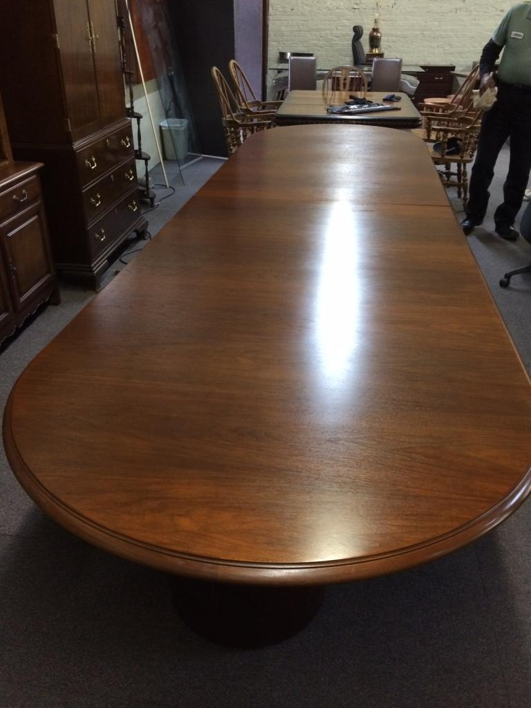 Used Office Conference Tables Foot Mahogany Conference Table At - 14 foot conference room table
