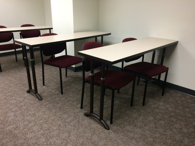 Used Office Conference Tables Teknion X Training Tables At - 18 x 60 training table