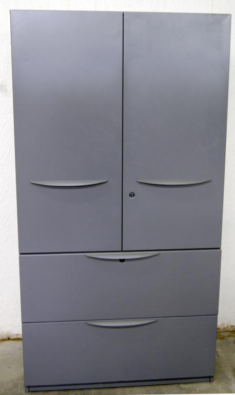Used Office File Cabinets : Haworth Combo Storage Units at Furniture on