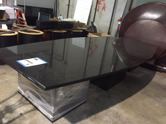 Used Office Conference Tables Black Granite Conference Table - Granite conference table
