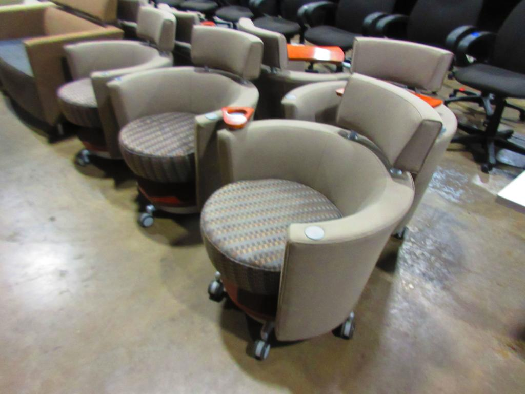 Super Used Office Chairs Haworth Hello Mobile Lounge Chairs In Dailytribune Chair Design For Home Dailytribuneorg