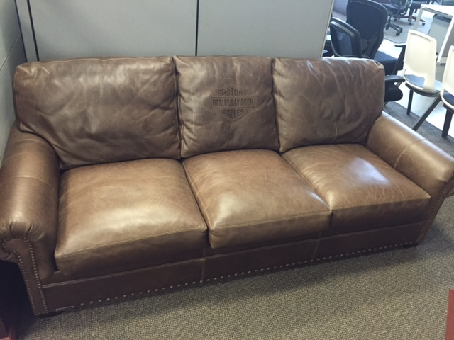 Harley Davidson Leather Sofa More Photos Listing Image