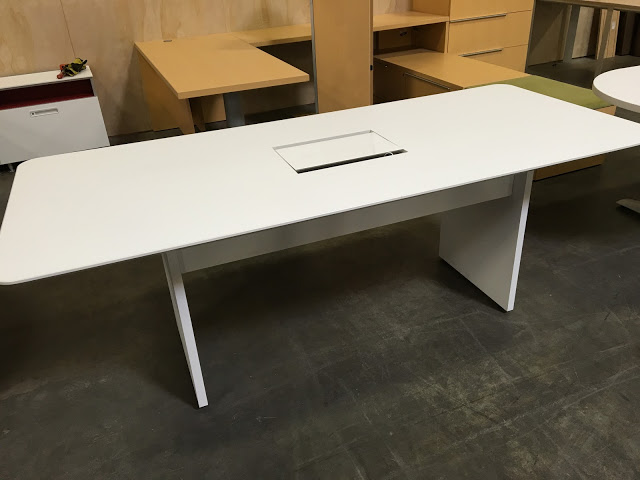 Used Office Conference Tables Foot Steelcase Conference Table At - 7 foot office table