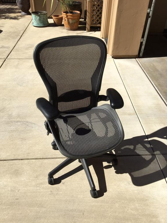 Used Office Chairs Herman Miller Aeron Chairs Size B At Furniture