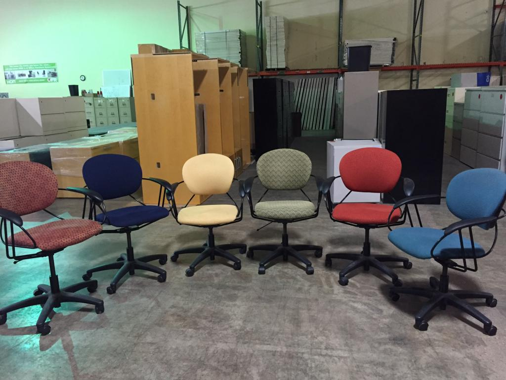 used office chairs used turnstone by steelcase uno desk chair at