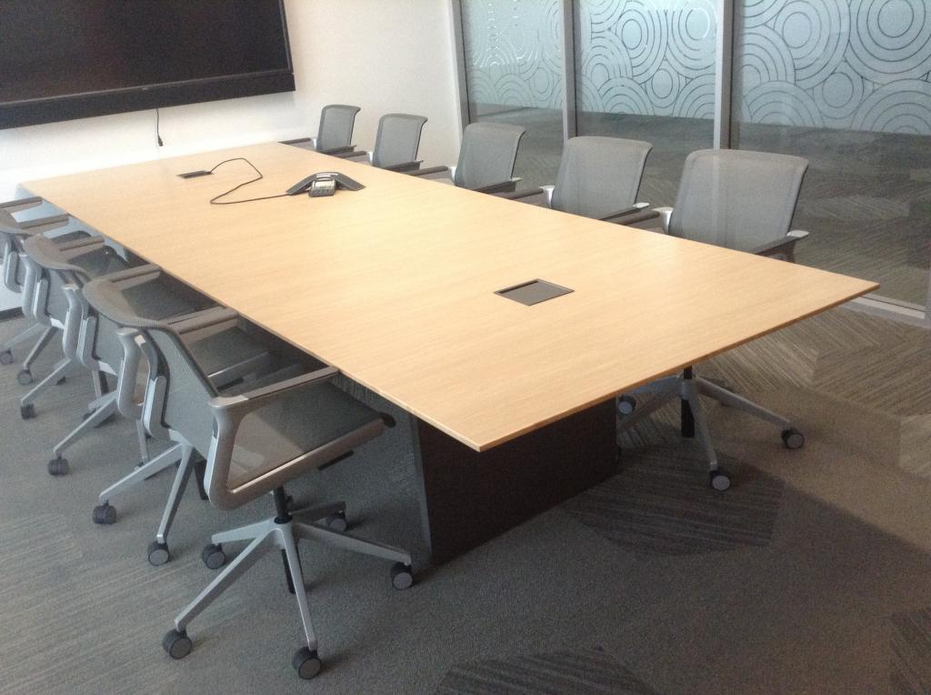 Used Office Conference Tables Nucraft Conference Table SOLD At - Used office furniture conference table