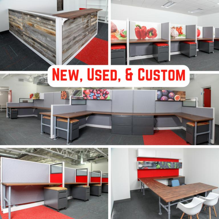 Used Office Parts and Accessories : Modern Industrial Office ...