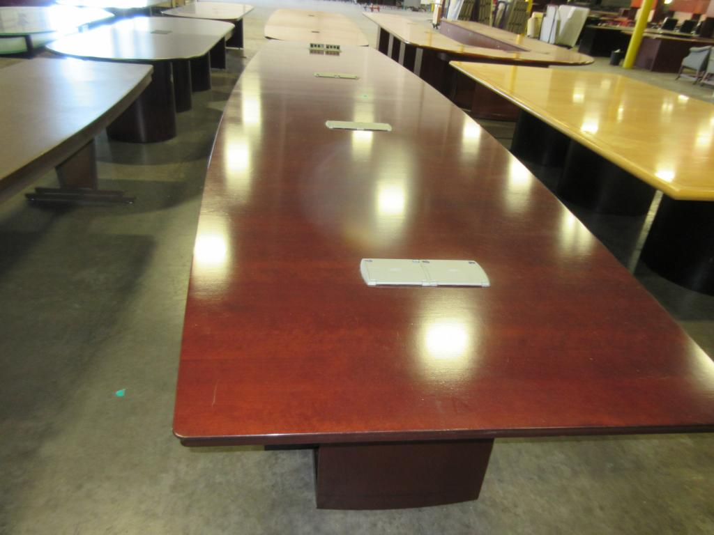 Used Office Conference Tables Darran Foot Conference Table At - 18 foot conference table