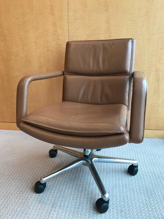 Sensational Used Office Chairs Keilhauer Elite Leather Conference Caraccident5 Cool Chair Designs And Ideas Caraccident5Info