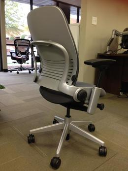 used office chairs steelcase leap v2 platinum at furniture finders
