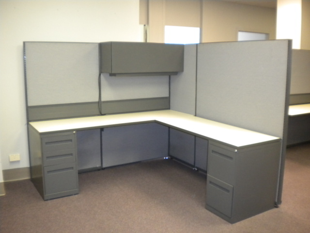 Used Office Cubicles : Teknion Used Cubicles at Furniture Finders