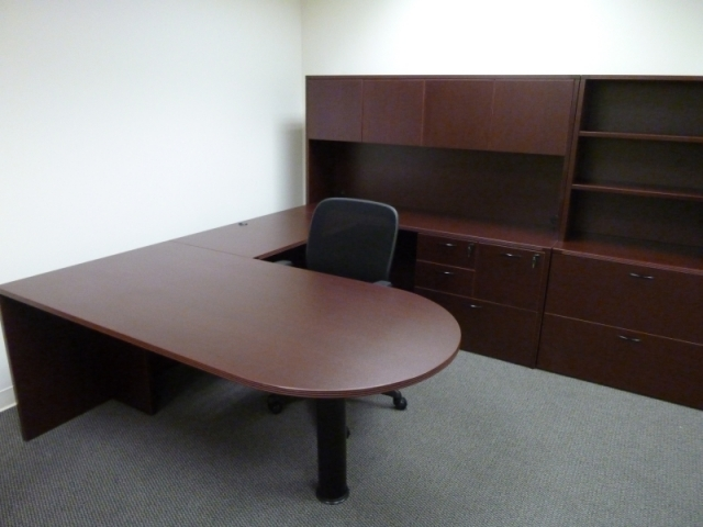 Used Office Desks Amber Laminate Desks Starting At Just