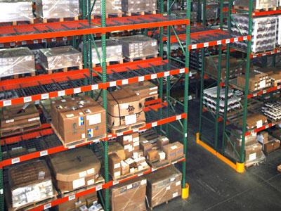 Used Industrial Racking and Shelving : Used Palllet Racking - click to see full size photo