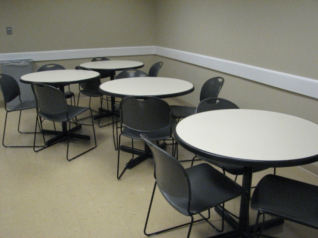 "used office conference tables : 36"" breakroom tables and chairs"