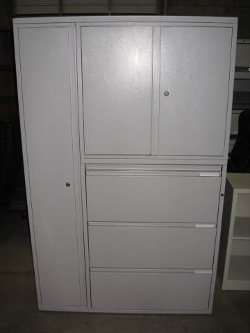 Used Office File Cabinets Meridian Herman Miller Storage