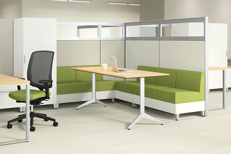 New Office Cubicles Allsteel TerraceDNA In Denver At Furniture Finders