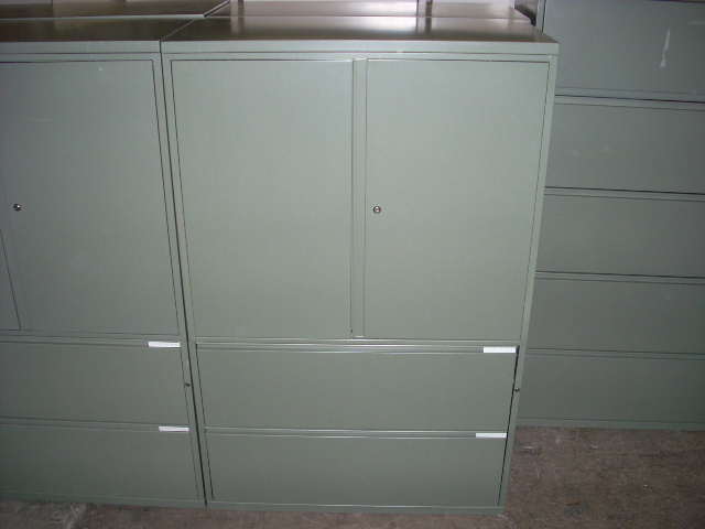 Used office file cabinets meridian combo cabinets at for Meridian cabinets