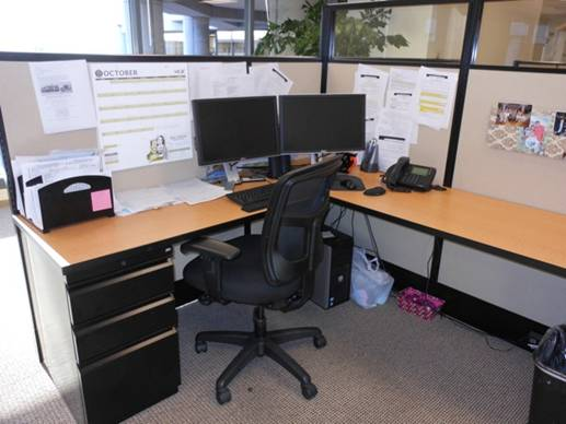 Maxon Workstations with Glass - click to see full size photo