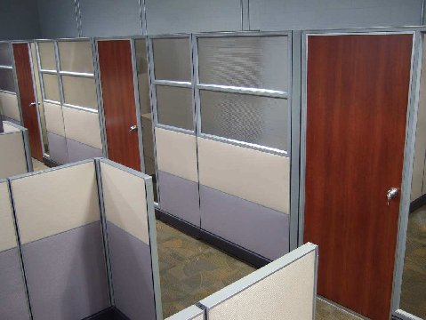New Office Cubicles New Friant Systems 2 Cubicles At