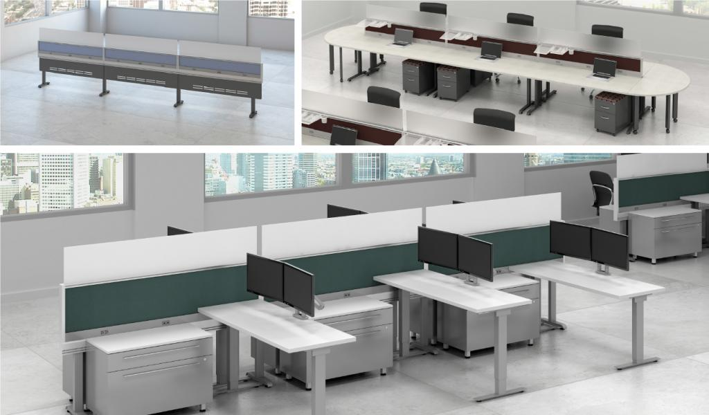 New Office Cubicles Modern Office Furniture Benching In