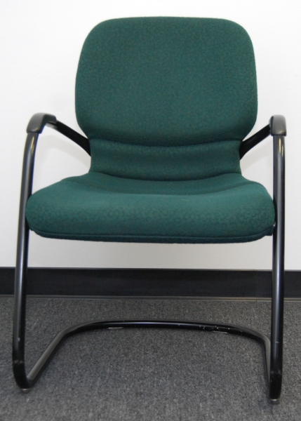 Used Steelcase Sensor Green Side chair - click to see full size photo