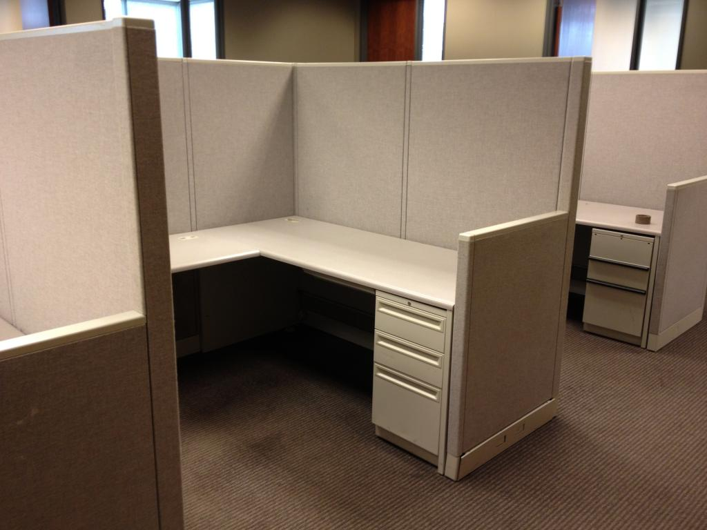 used office cubicles hon concensys workstations at