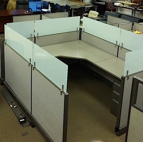 Office Furniture: Used Office Cubicles : Herman Miller A02 Cubicles With