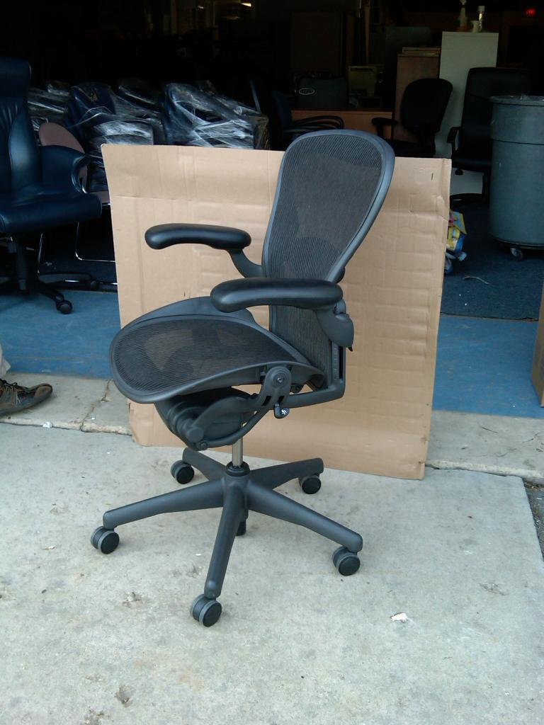 Used Office Chairs Aeron Amp Mirra Chairs By Herman Miller