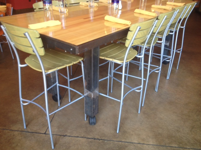 Counter Height Mobile Conference Table : Counter Height Mobile Table ...