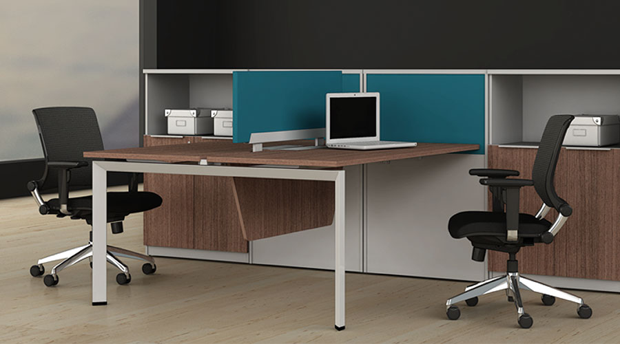 New Office Cubicles Friant Benching Stations In Chicago