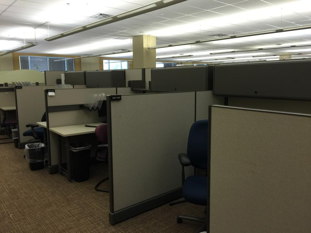 Used Office Cubicles Herman Miller Ao2 6 X 6 Cubicles