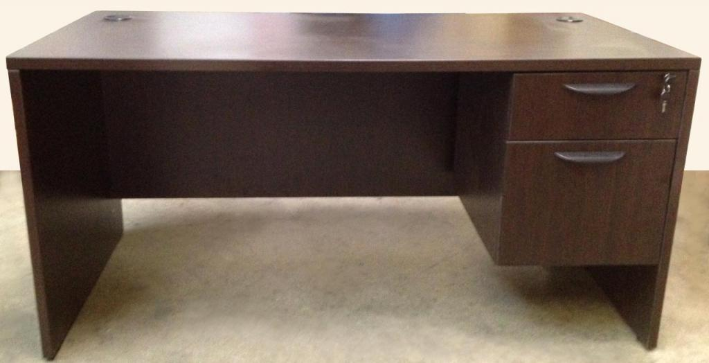 Used Office Desks Friant Gitana 30x60 Single Ped Desk At
