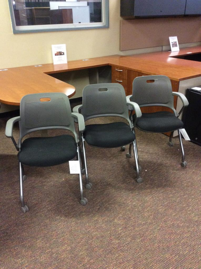 Used Office Chairs Allsteel Get Set Nesting Training Chairs At Furniture Fi