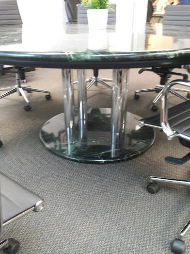 Used Office Conference Tables 72 Quot Round Marble