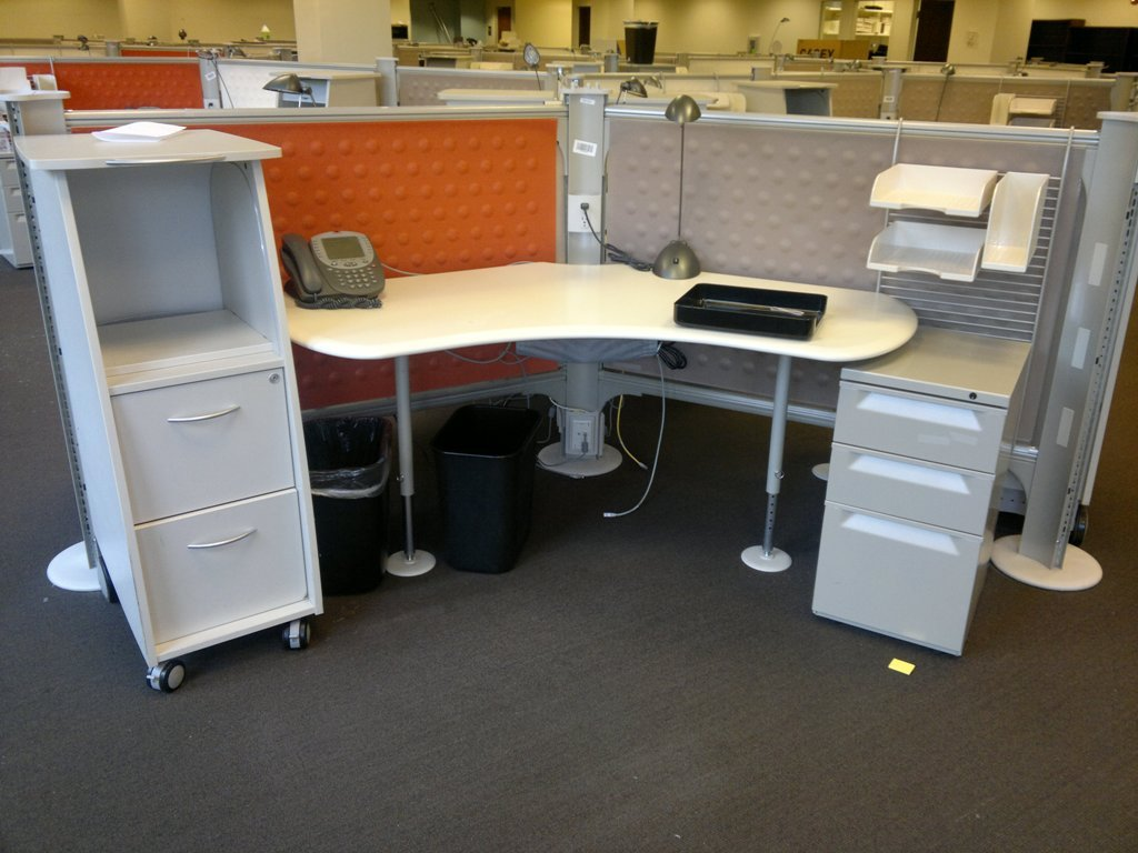 Used Office Cubicles Used Herman Miller Resolve