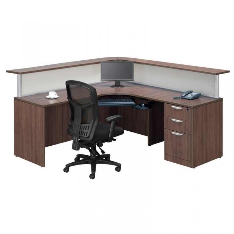 New Office Reception Area New Modern Reception Desk In