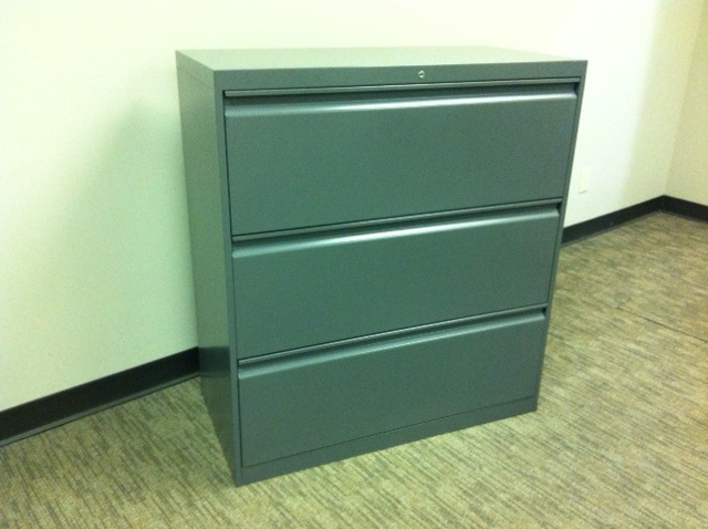 Used Office File Cabinets Allsteel 3 Dwr Lateral Files At Furniture Finders
