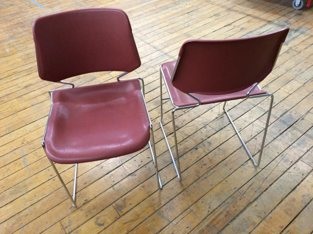 Used Office Chairs Krueger Matrix Stack Chair At Furniture Finders