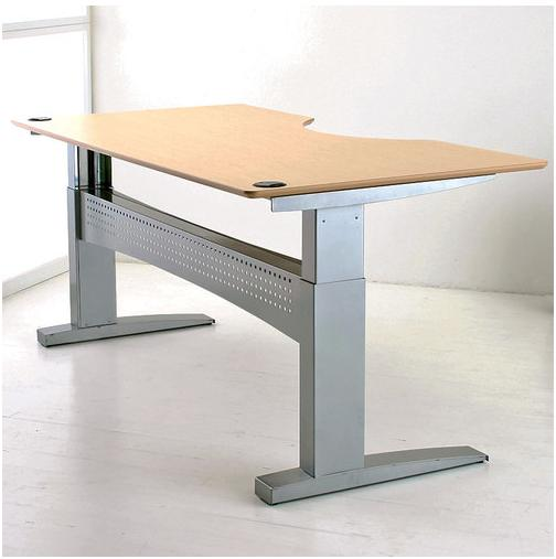 new office parts and accessories height adjustable desk at furniture finders. Black Bedroom Furniture Sets. Home Design Ideas