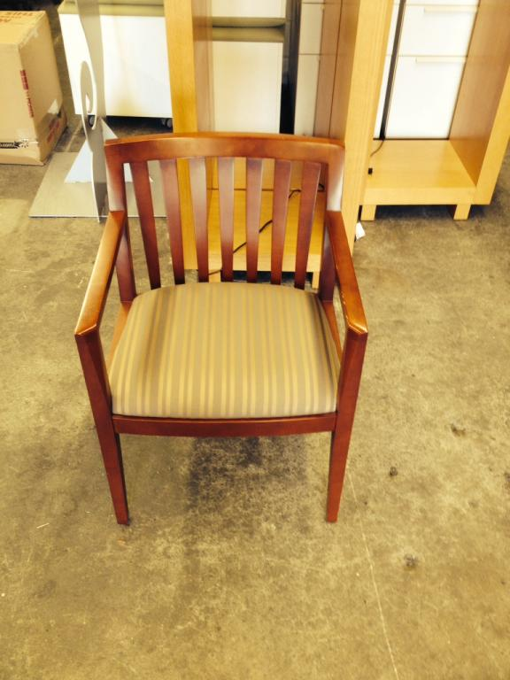 Used Office Furniture Wooden ~ Used office chairs wooden guest cherry at