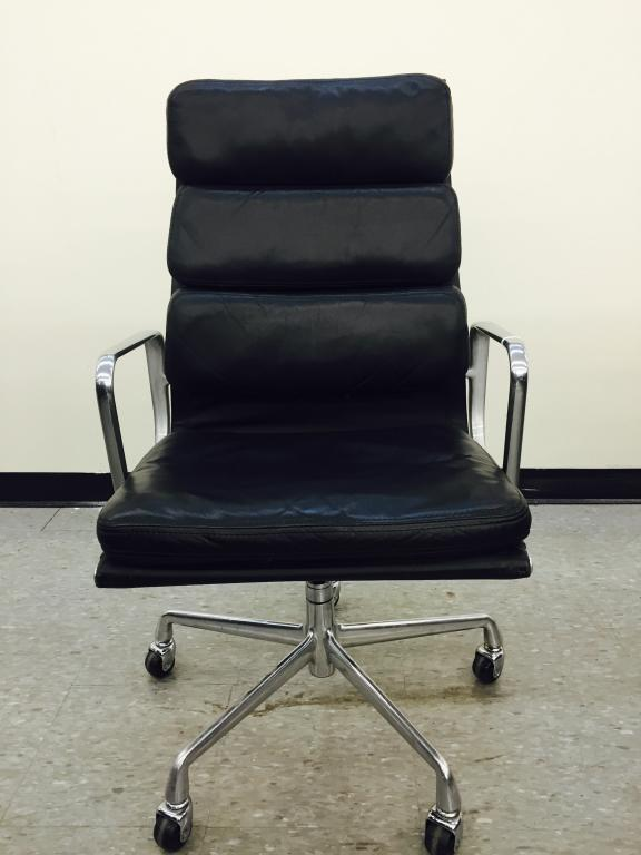 Listing ImageUsed Office Chairs   Herman Miller Eames Soft Pad Executive Chairs  . Eames Soft Pad Management Chair Used. Home Design Ideas