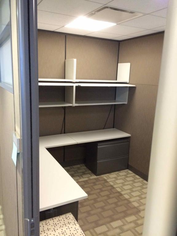 Used Office Cubicles 8x12 Floor To Ceiling Private Offices At Furniture Finders