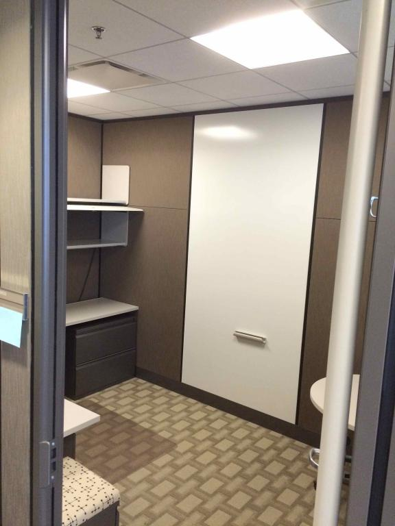 Used Office Cubicles 8x12 Floor To Ceiling Private