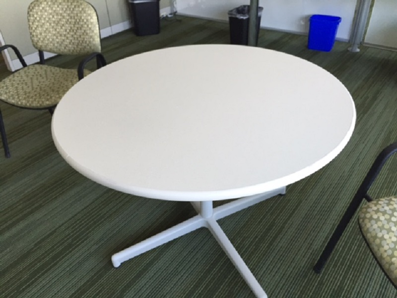 Used Office Conference Tables Steelcase Round Table At
