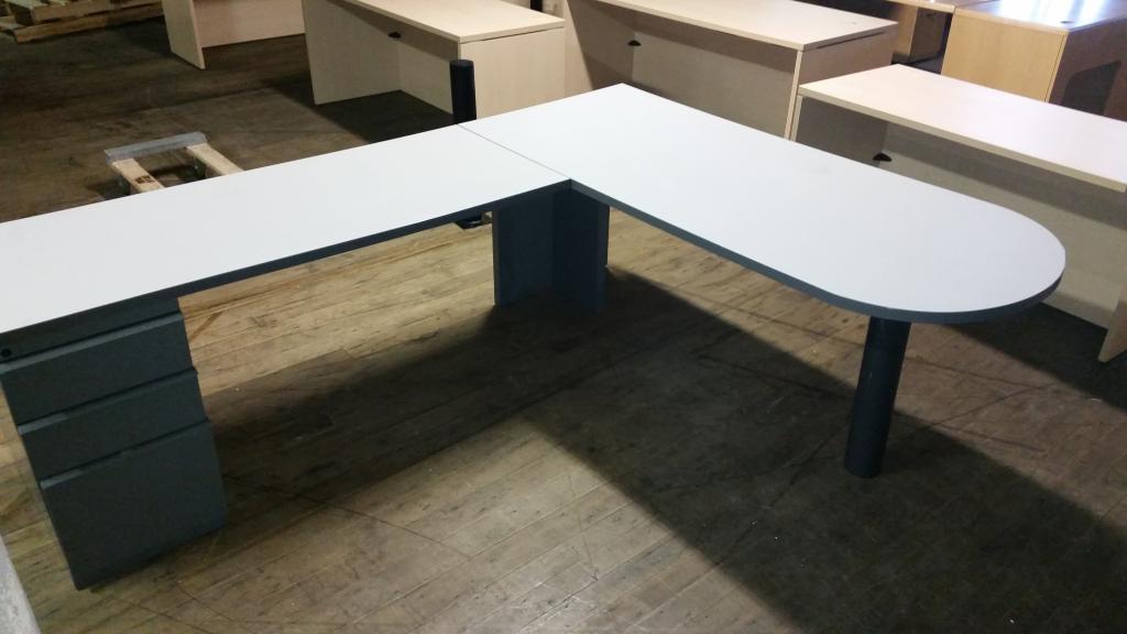 Used Office Desks Knoll L Shape Desks At Furniture Finders